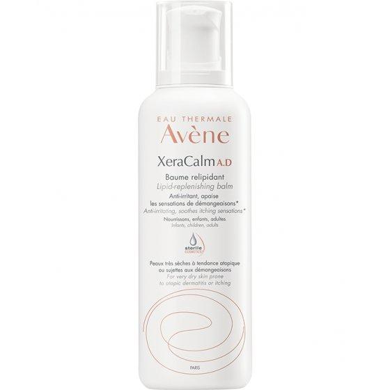 AVÈNE Xeracalm A.D Bálsamo relipidante D.E.F.I. para pele com prurido e de tendência atópica. Embalagem de 400 ml