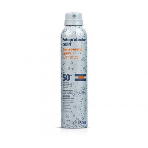 FOTOPROTECAO ISDIN TRANSPIRACAO SPRAY WET SKIN 50+ 250ML