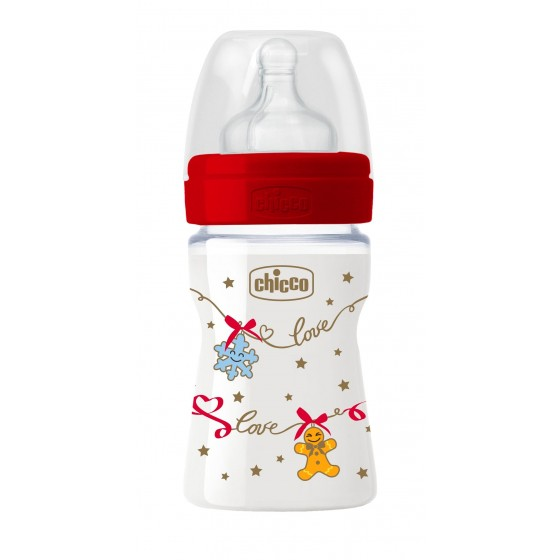 CHICCO BIBERAO WELL BEING CHRISTMAS SILICONE 150ML