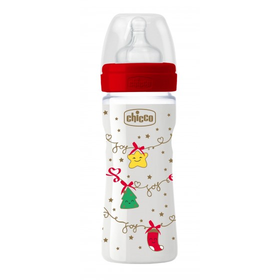 CHICCO BIBERAO WELL BEING CHRISTMAS SILICONE 250ML