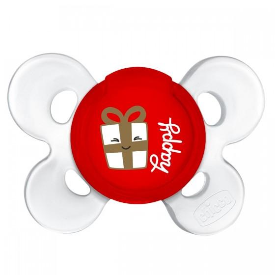 CHICCO CHUPETA PHYSIO COMFORT CHRISTMAS 12M+