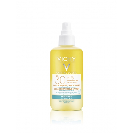 VICHY IDEAL SOLEI AGUA PROTECT HIDRA 30 200ML