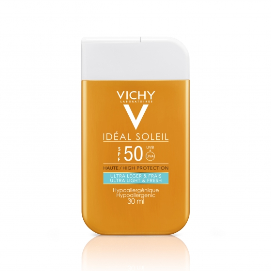 Vichy Fluido Rosto & Corpo Pocket FPS 50 30 ml