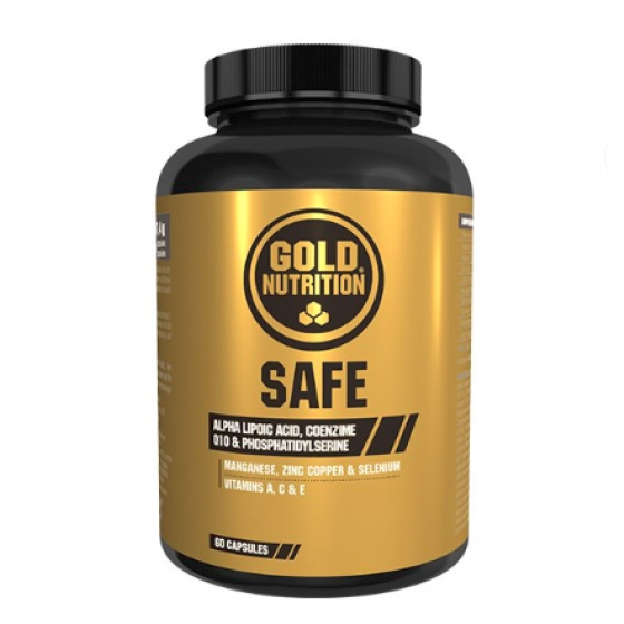 GOLD NUTRITION SAFE x 60 CAPSULAS