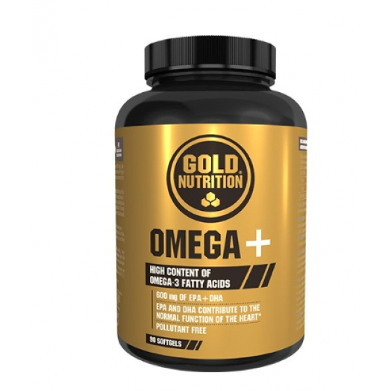 GOLD NUTRITION OMEGA CAPSULAS X 90
