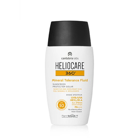 HELIOCARE 360 FLUIDO MINERAL TOLERANCE SPF50 50ML