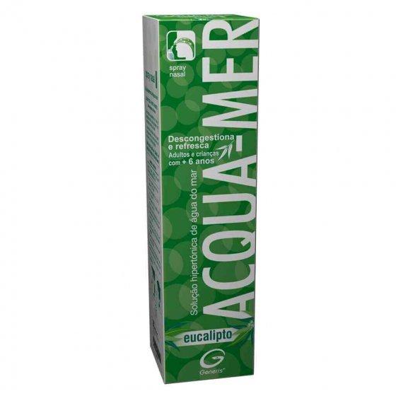 Acqua-Mer Spray Nasal Eucalipto Solução Hipertónica 125ml