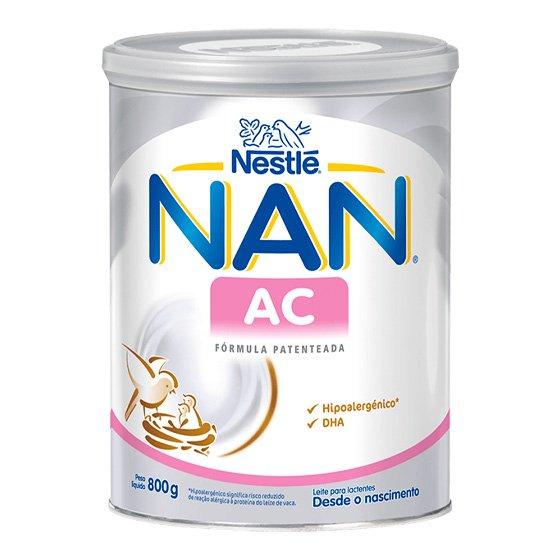 NAN AC LEITE LACTENTE 800G