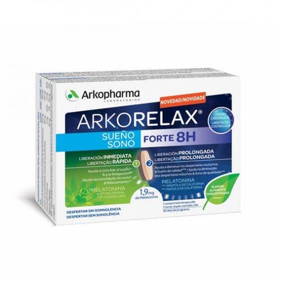Arkorelax Sono Forte 8H 30 Comprimidos