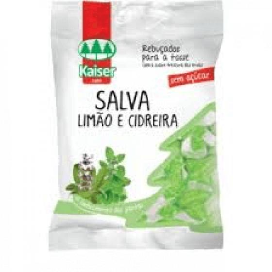 KAISER REBUÇADOS LIMÃO E CIDREIRA 60GR