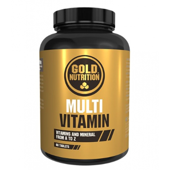GOLD NUTRITION MULTIVITAMIN COMPRIMIDOS X 60