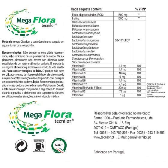 MEGAFLORA X8 SAQUETAS