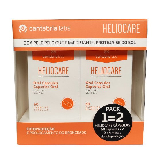 HELIOCARE CAPSULAS 60 UNIDADE(S) COM OFERTA DE 2ª EMBALAGEM, CAPS(S)