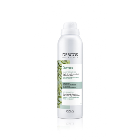 DERCOS NUTRIENTS CHAMPÔ SECO DETOX 150ML