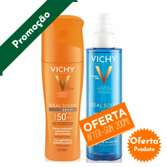 VICHY IDEAL SOLEIL SPRAY BRONZE 50+OFERTA AFTER SUN