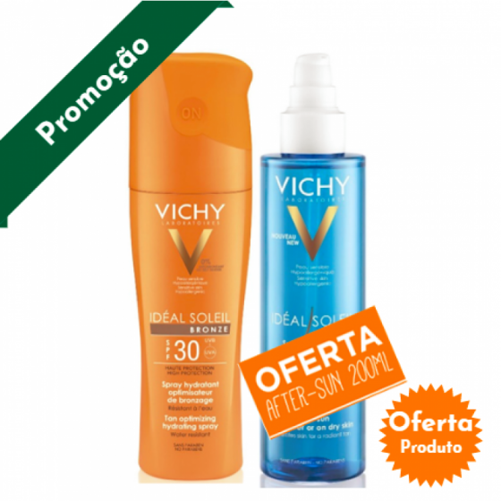 VICHY IDEAL SOLEI SPRAY BRONZE 30+OFERTA AFTER SUN