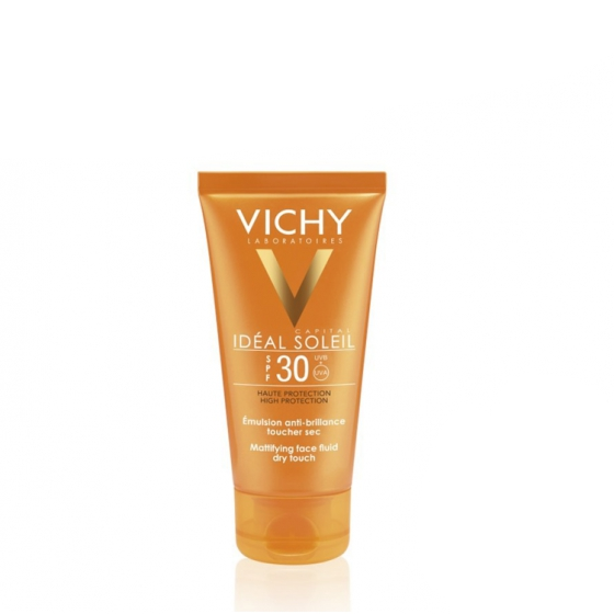VICHY IDEAL SOLEIL CREME TOQUE SECO 30 50ML DESCONTO25%