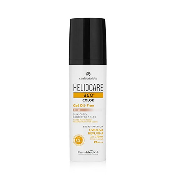 HELIOCARE 360 OIL FREE GEL COR 50+ MATE 50ML BRONZE