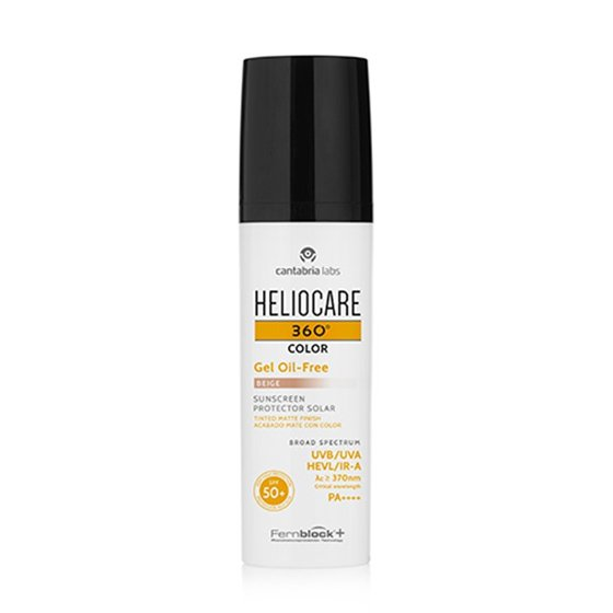 HELIOCARE 360º OIL-FREE GEL COR BEGE SPF50+ MATE 50ML