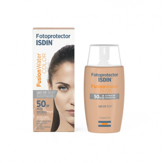 FOTOPROTECAO ISDIN  FUSION WATER COLOR SPF50+ 50ML