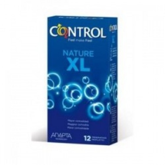 CONTROL NATURE PRESERVATIVO XL ADAPTA x12