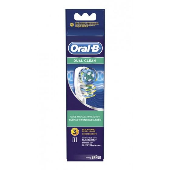 ORAL-B RECARGA ESCOVA ELÉCTRICA DUAL CLEAN X 2