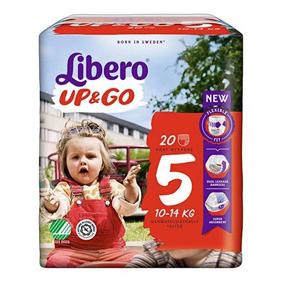 Libero Up Go fralda T5 10/14 Kg X 22