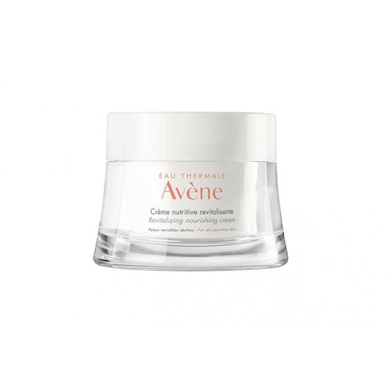 AVÈNE Creme nutritivo revitalizante para pele sensível. Embalagem de 50 ml