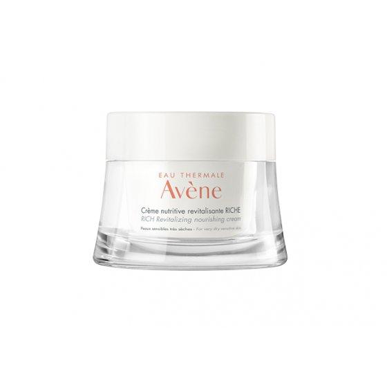 AVÈNE Creme Nutritivo Revitalizante Rico Les Essentiels para a pele sensível seca. Embalagem de 50ml