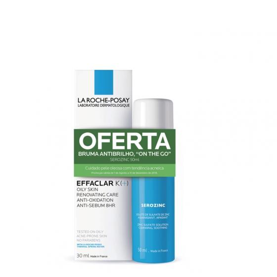 LA ROCHE-POSAY EFFACLAR K(+) CREME RENOVADOR 40ML + OFERTA SEROZINC