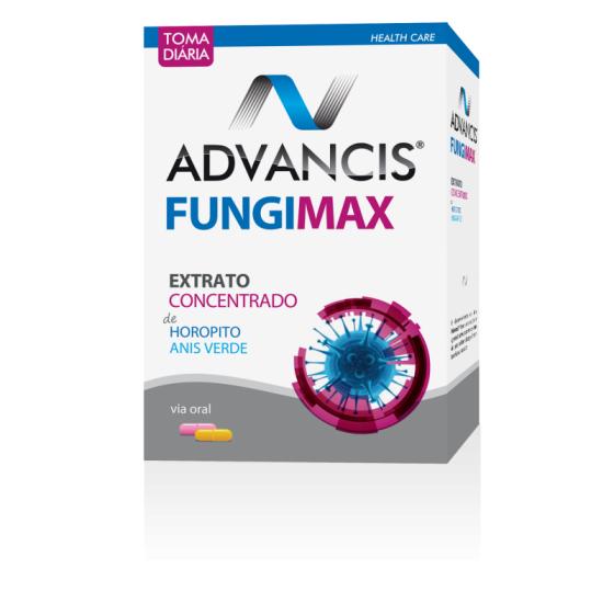 ADVANCIS FUNGIMAX PACK CAPSULAS AMARELAS 20 UNIDADE(S) + CAPSULAS ROSA 20 UNIDADE(S)