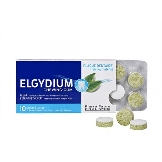 ELGYDIUM ANTI PLACA BACTERIANA PASTILHA ELASTICA X 10