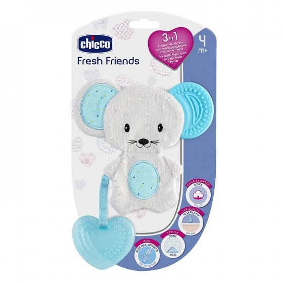 CHICCO MORDEDOR FRESH FRIENDS AZUL