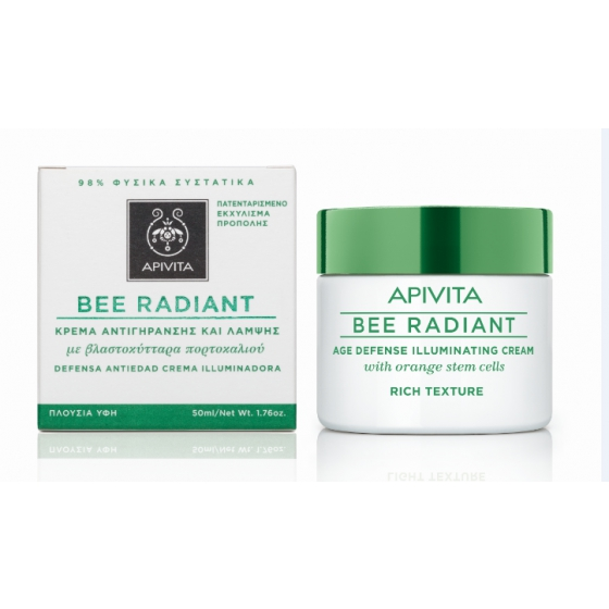 Apivita Bee Radiance Creme Rico 50ml