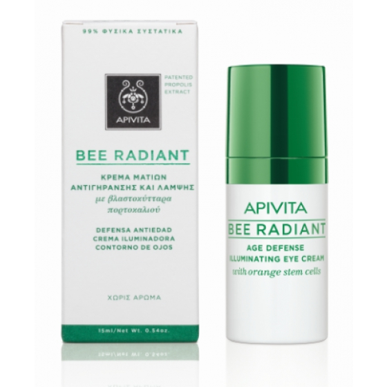 APIVITA BEE RADIANCE CREME CONTORNO OLHOS 15ML