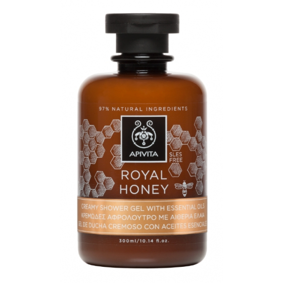 APIVITA CORPO GEL BANHO ROYAL HONEY 300ML