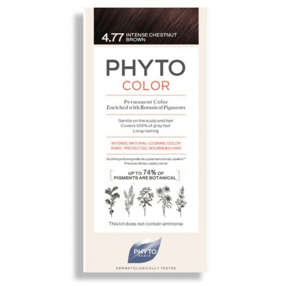 PHYTOCOLOR COLORACAO 4.77 CASTANHO MARRON PROF 2018