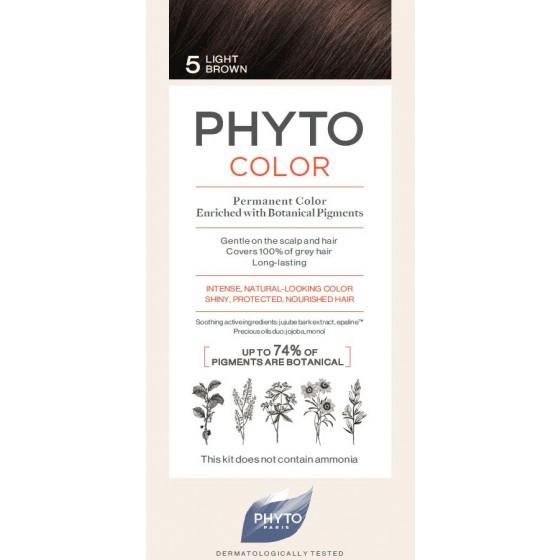 PHYTOCOLOR COLORACAO 5 CASTANHO CLARO 2018