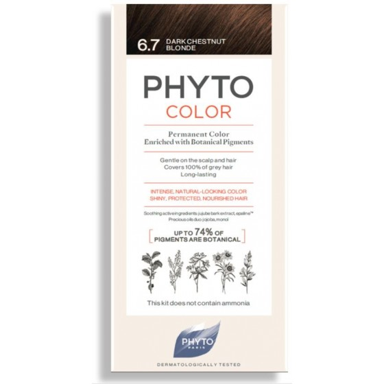 PHYTOCOLOR COLORACAO 6.7 LOURO ESCURO MARRON 2018