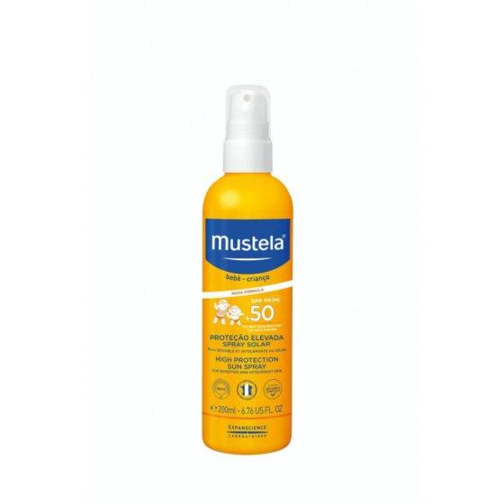 MUSTELA SOLAR SPRAY SPF50 200ML