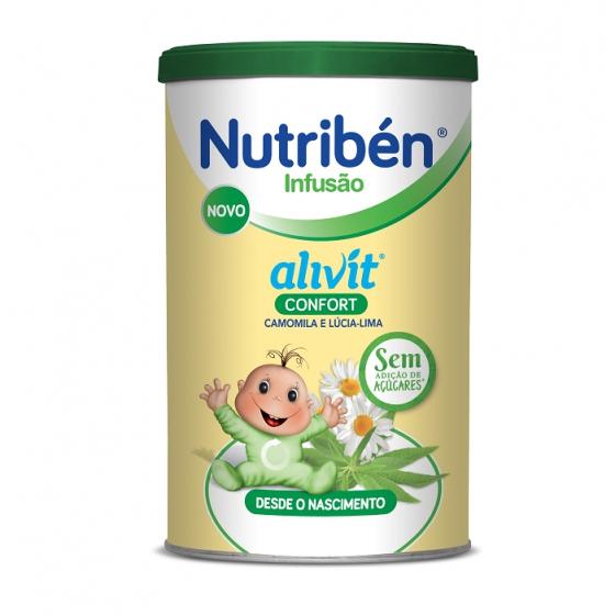 NUTRIBEN INFUSAO ALIVIT CONFORT 150G INF G CAMOMILA (MATRICARIA RECUTITA) LUCIA-LIMA (LIPPIA CITRODORA)