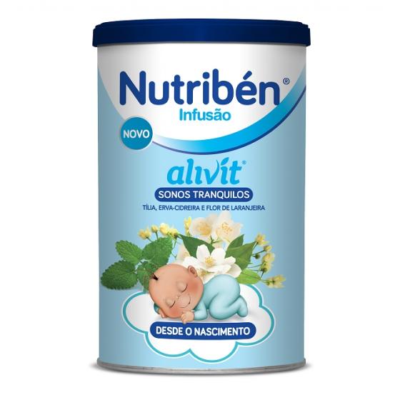 NUTRIBEN INFUSAO ALIVIT SONOS TRANQUILOS 150G INF G TILIA (TILIA CORDATA) ERVA CIDREIRA (MELISSA OFFICINALIS) LARANJA (CITRUS SINENSIS)