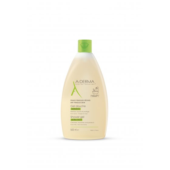 A-DERMA GEL DUCHE ULTRA RICO 500ML
