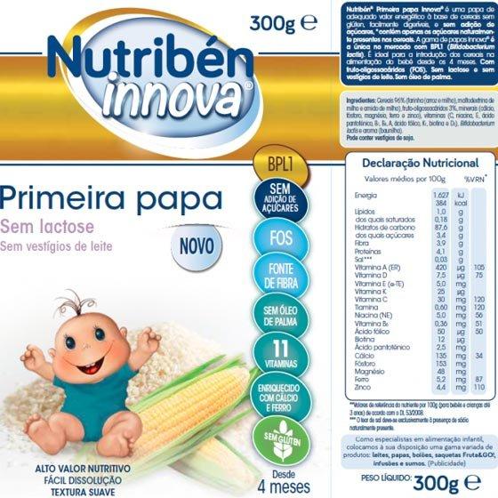 NUTRIBEN INNOVA PRIMEIRA PAPA 300G