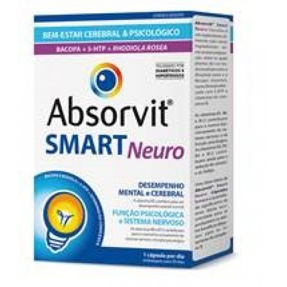 ABSORVIT SMART NEURO CAPSULAS X 30