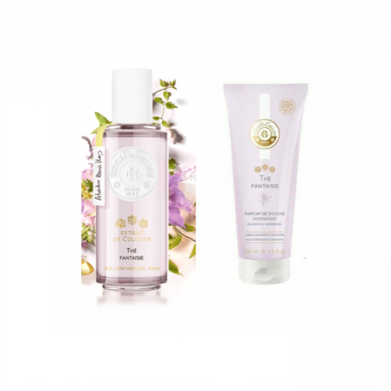 ROGER & GALLET THE FANTAISIE AGUA DE COLONIA 30 ML COM OFERTA DE GEL DE BANHO 50 ML