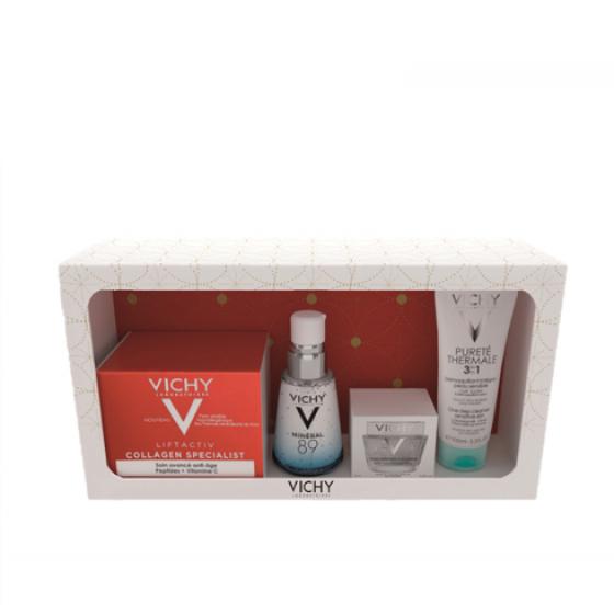 VICHY LIFTACTIV COFFRET COLAGENIO 50ML + MINERAL 89 + OFERTA