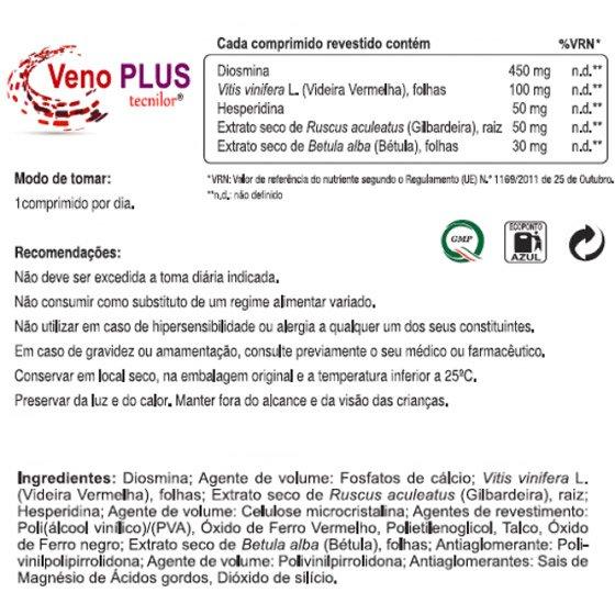 TECNILOR VENO PLUS COMPRIMIDOS X60