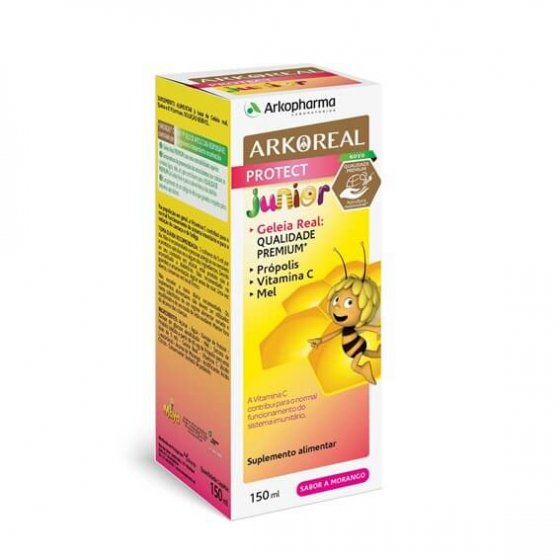 ARKOREAL PROTECT JUNIOR BIO SOLUCAO MORANGO 140ML