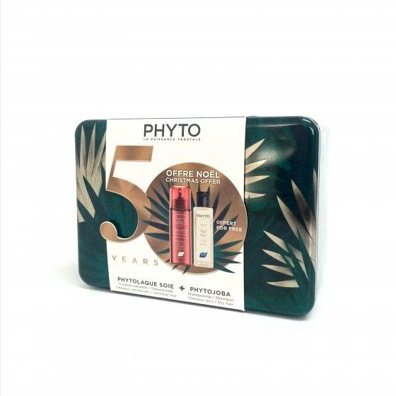 PHYTO PHYTOLAQUE SOIE LACA FIXACAO NATURAL 100 ML COM OFERTA DE PHYTOJOBA CHAMPO 100 ML NATAL 2019